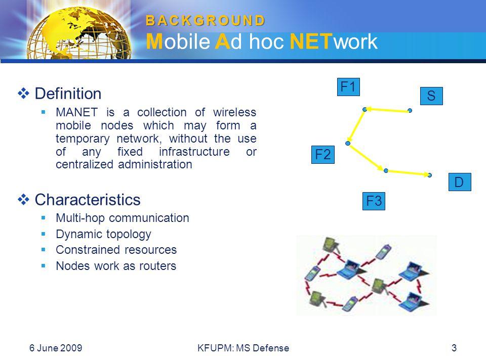 6 June 2009KFUPM: MS Defense44 Performance Evaluation Performance Evaluation video traffic