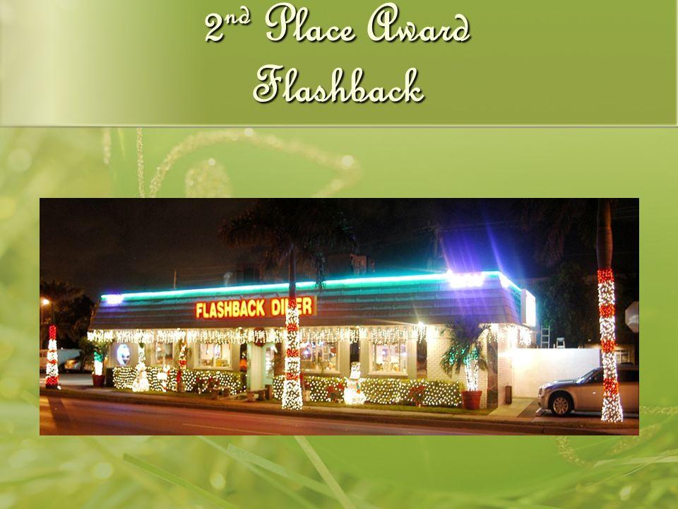 2 nd Place Award Flashback