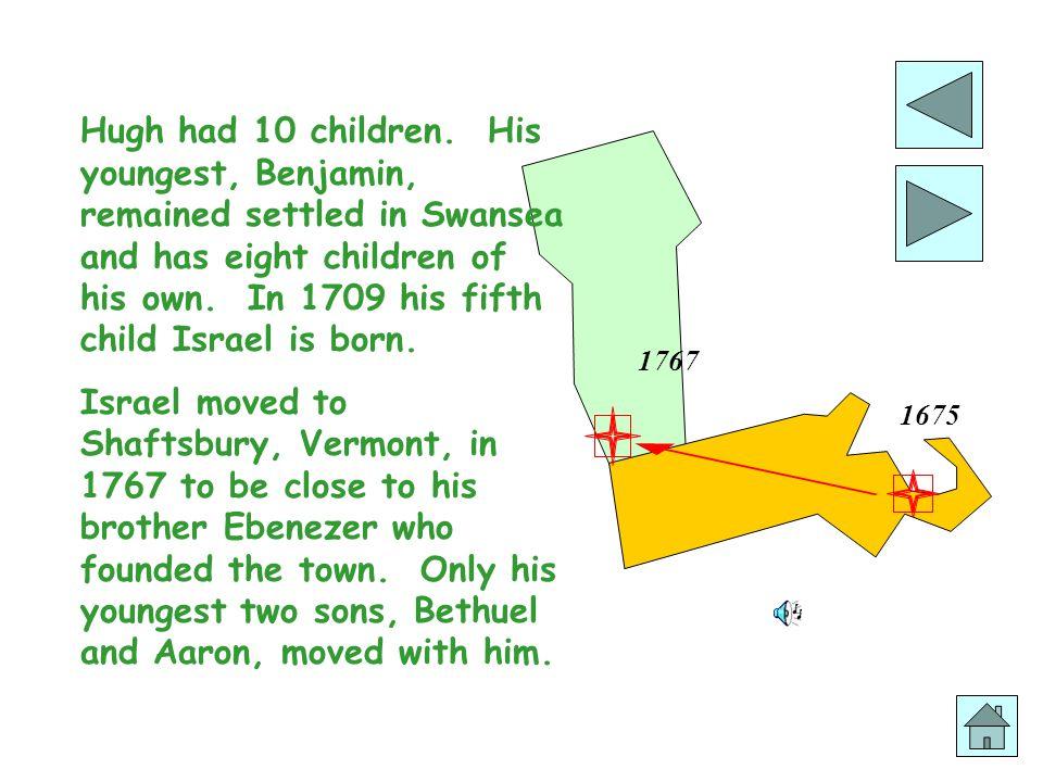 1767 1675 Hugh had 10 children.