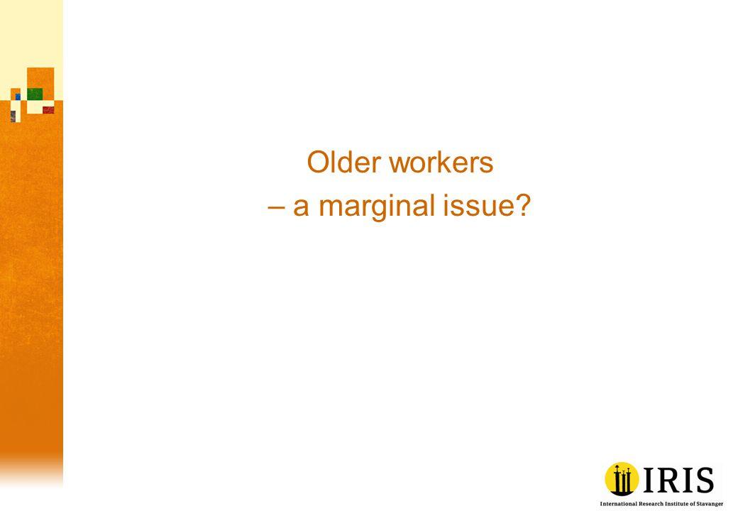 Older workers as learners: 20-30 years or half of a career.