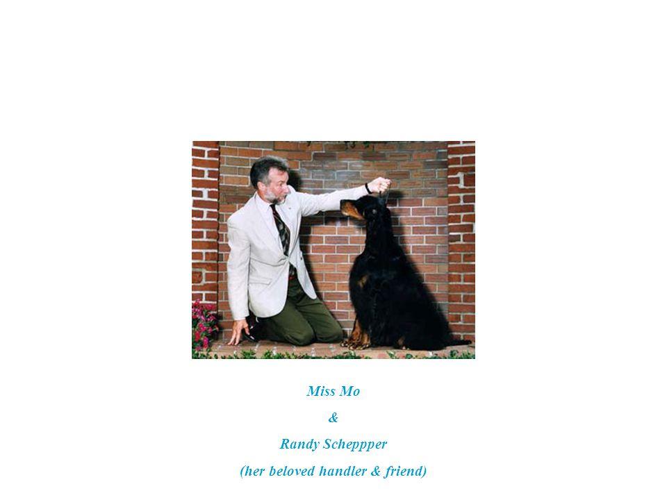 1-16-93 Miss Mo's first show at 6 months RWB (major) Judge: J. Donald Jones