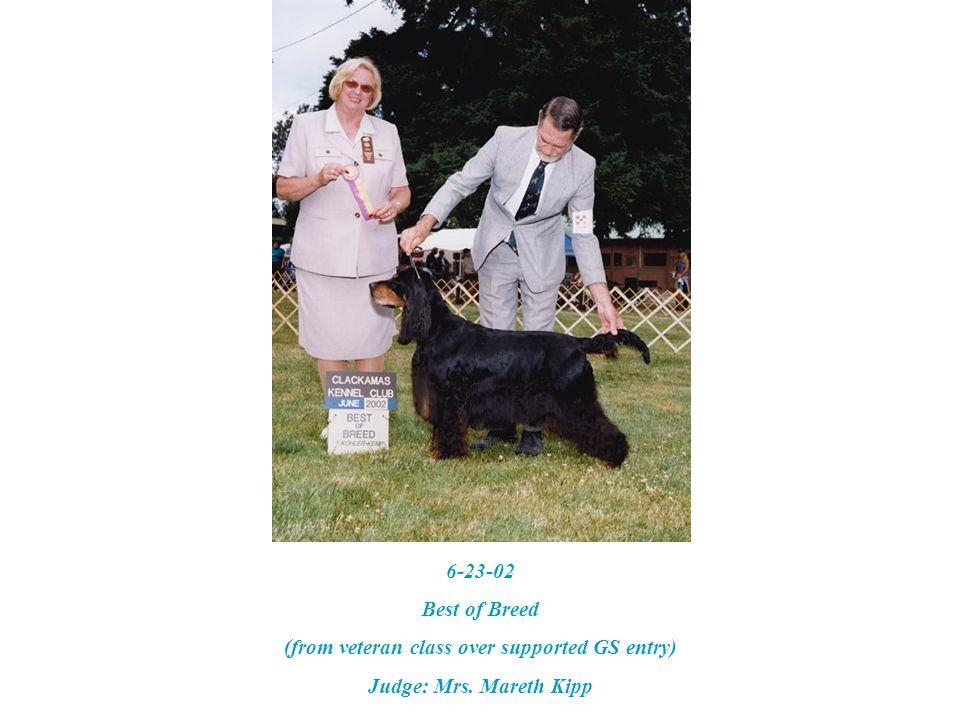 3-8-97 – GGGS Specialty BOS Judge: Mrs. MaryAnn Alston