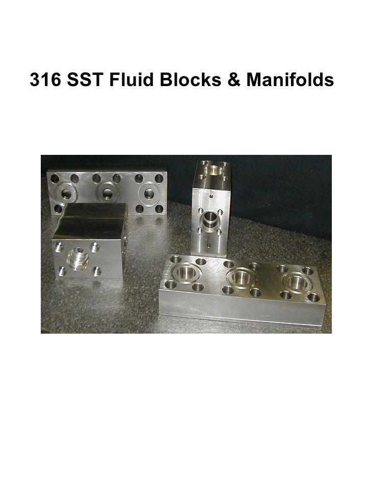 316 SST Fluid Blocks & Manifolds