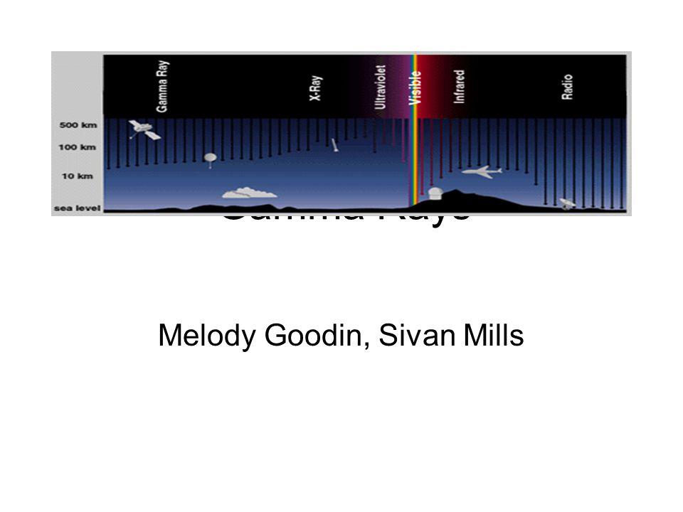 Gamma Rays Melody Goodin, Sivan Mills