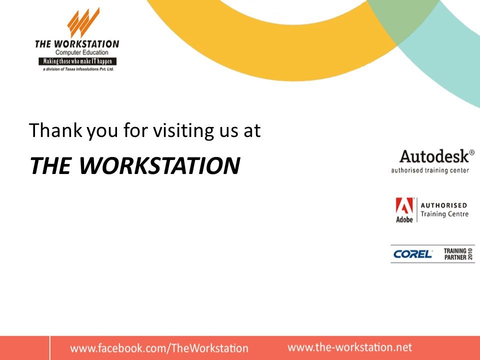 Thank you for visiting us at THE WORKSTATION