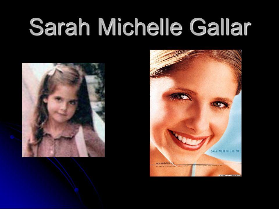 Sarah Michelle Gallar