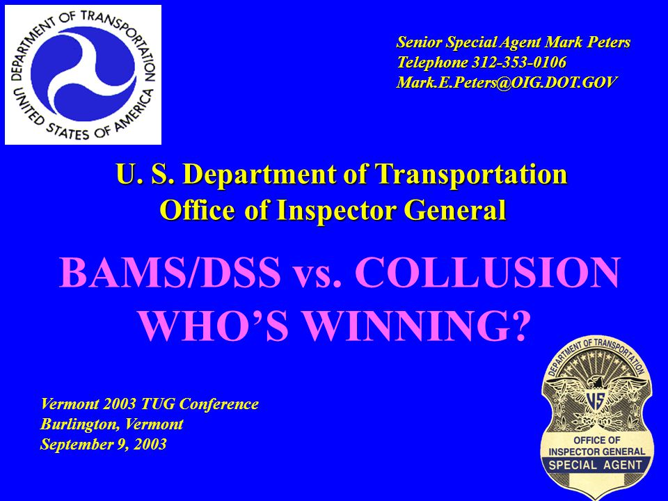 State DOT Questionnaire  When collusion was detected, what steps did state DOT representatives take.