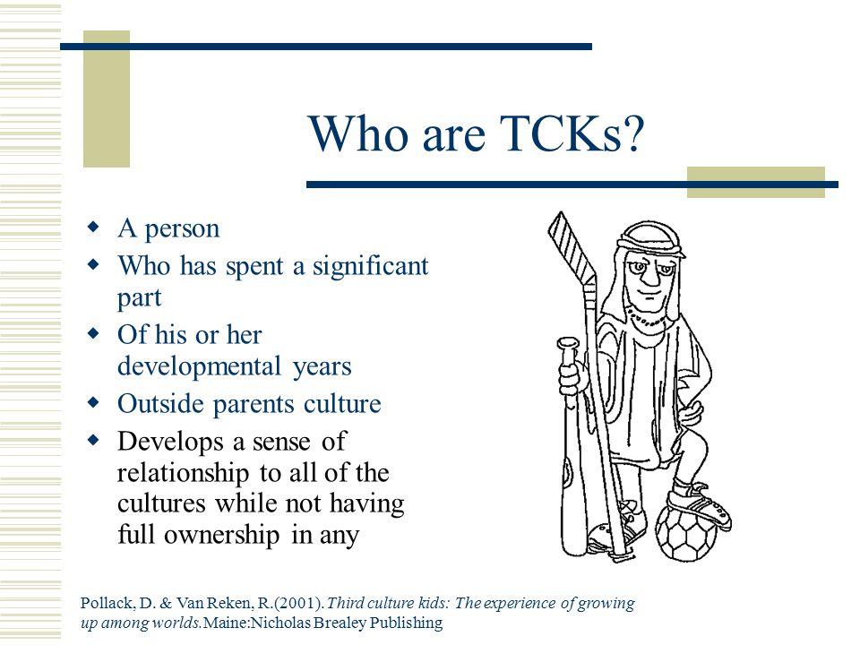 Who are TCKs.