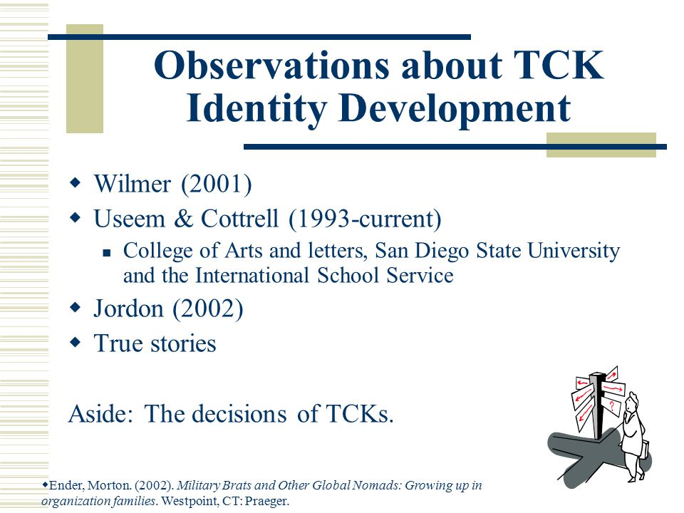 Suggestions: Why are many of the TCKs still in moratorium status.