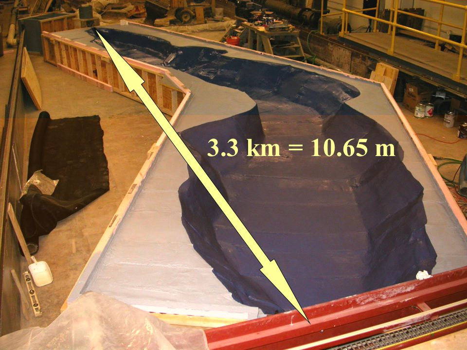 3.3 km = 10.65 m