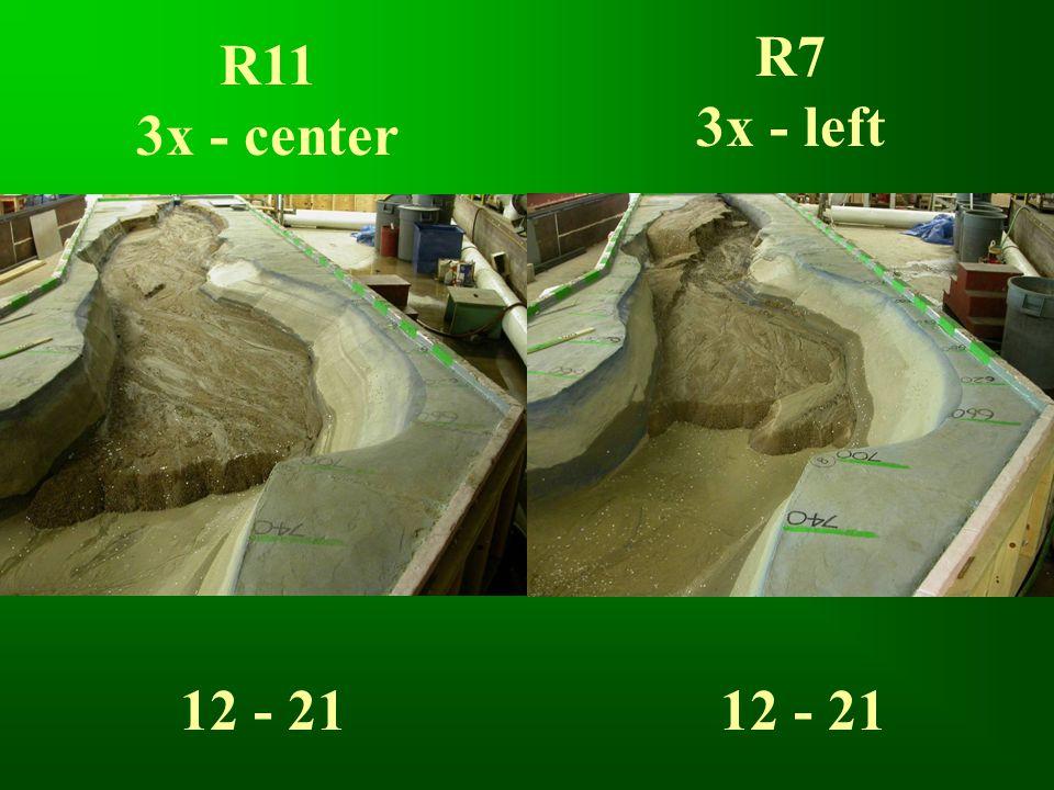 R11 3x - center R7 3x - left 12 - 21