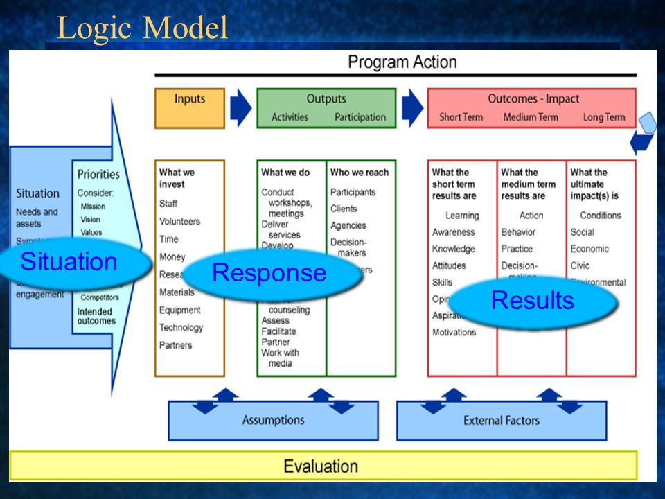 Logic Model Situation Response Results