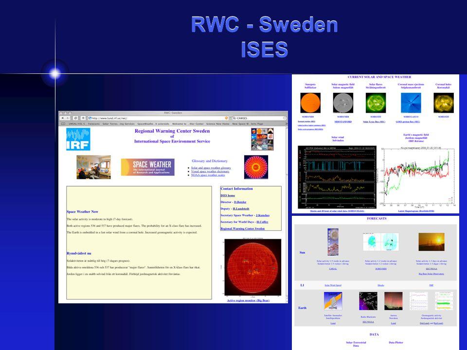RWC - Sweden ISES