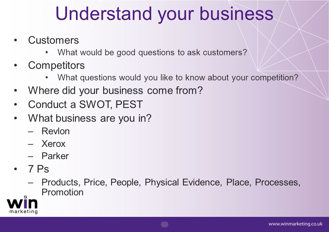 Product or market focused.Are you really customer focused.