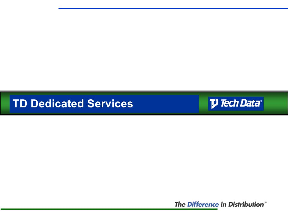 TD Dedicated Services