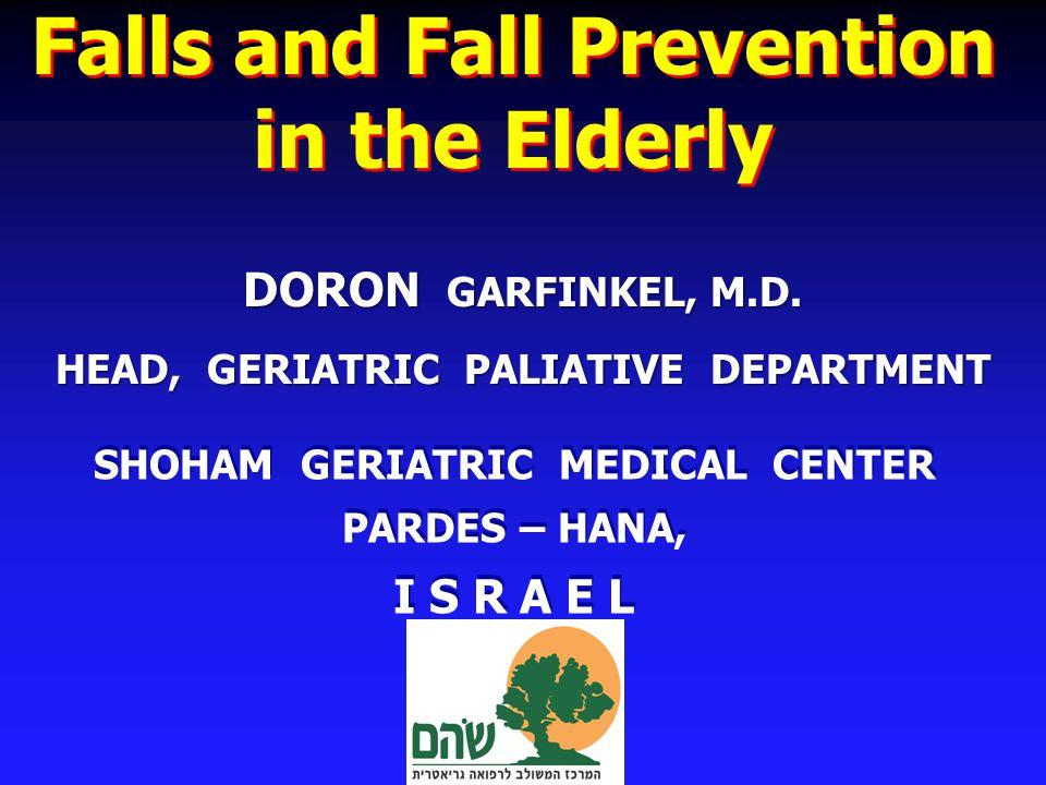 Risk Factors for Falls – 28 –Cognitive Impairment 5 –Lower extremity problem 4 –Pathologic Reflex 3 –Foot Problems 2 –> balance/gait problems 1.9 Tinetti NEJM 1988 Risk Factor OR Sedative use