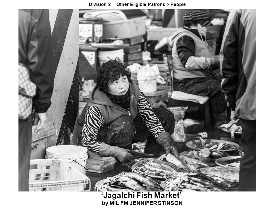'Jagalchi Fish Market' by MIL FM JENNIFER STINSON Division 2 Other Eligible Patrons > People