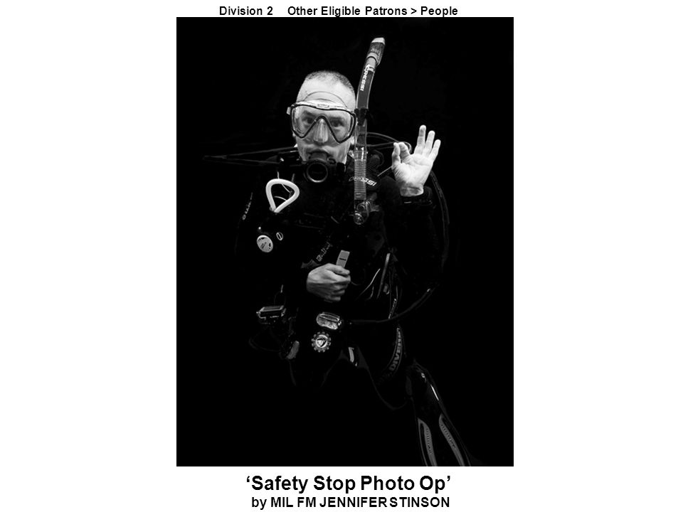 'Safety Stop Photo Op' by MIL FM JENNIFER STINSON Division 2 Other Eligible Patrons > People