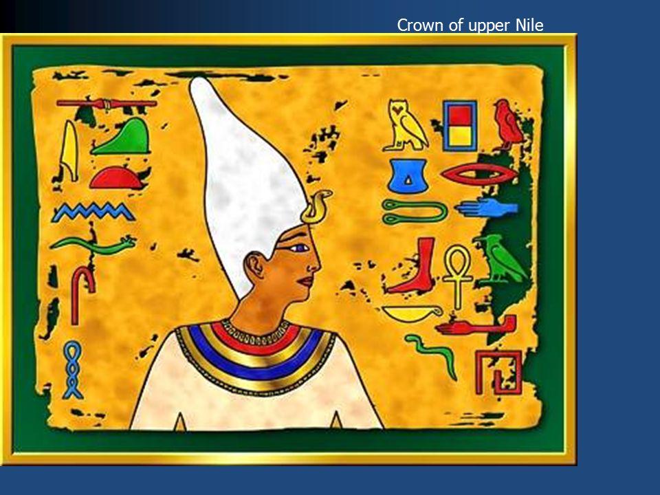 Crown of upper Nile