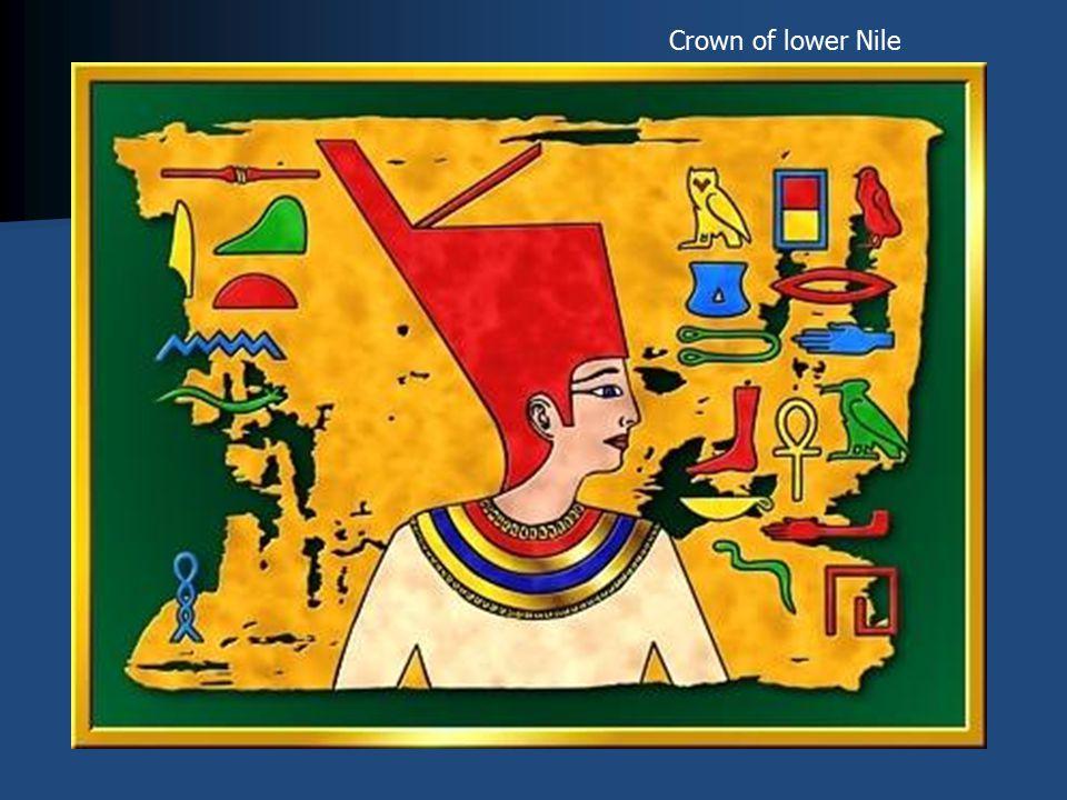 Crown of lower Nile