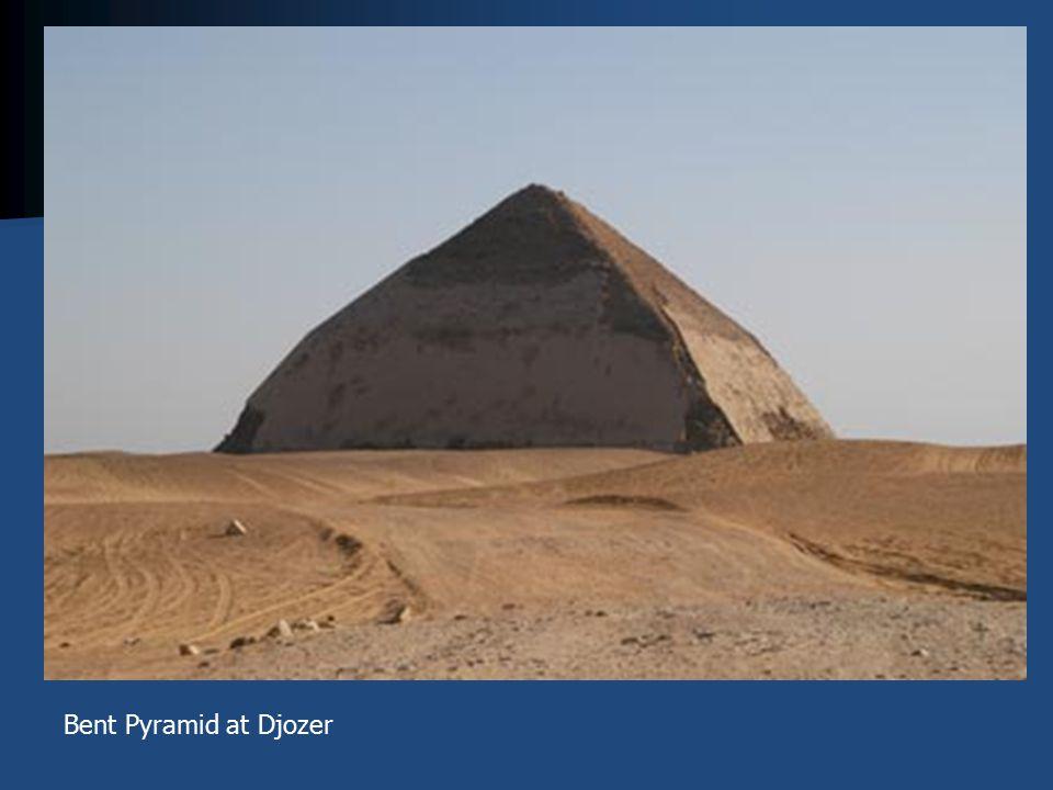 Bent Pyramid at Djozer