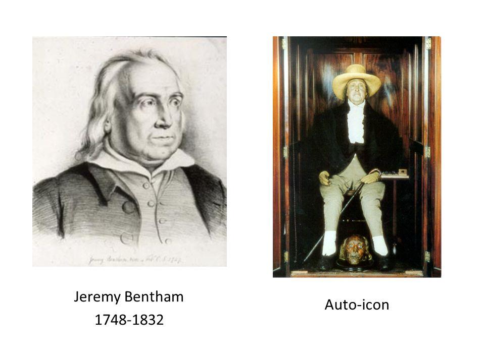 Jeremy Bentham 1748-1832 Auto-icon