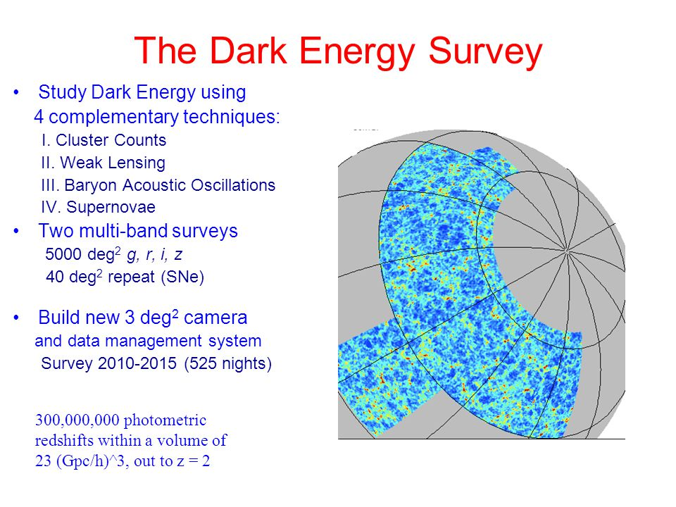 Study Dark Energy using 4 complementary techniques: I.