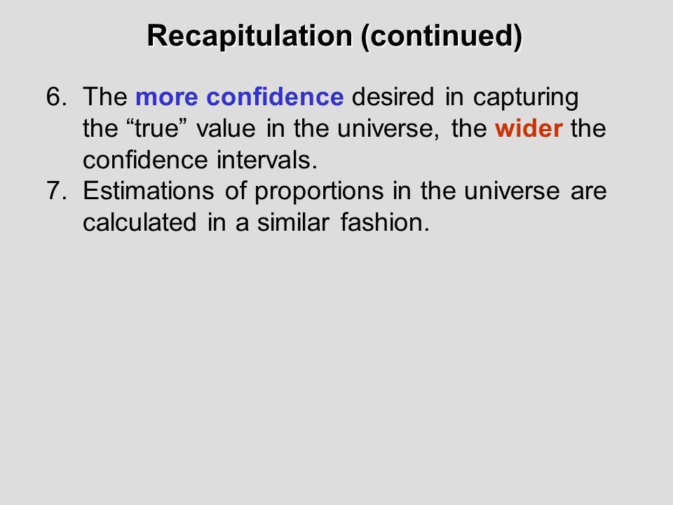 Recapitulation Recapitulation 1.