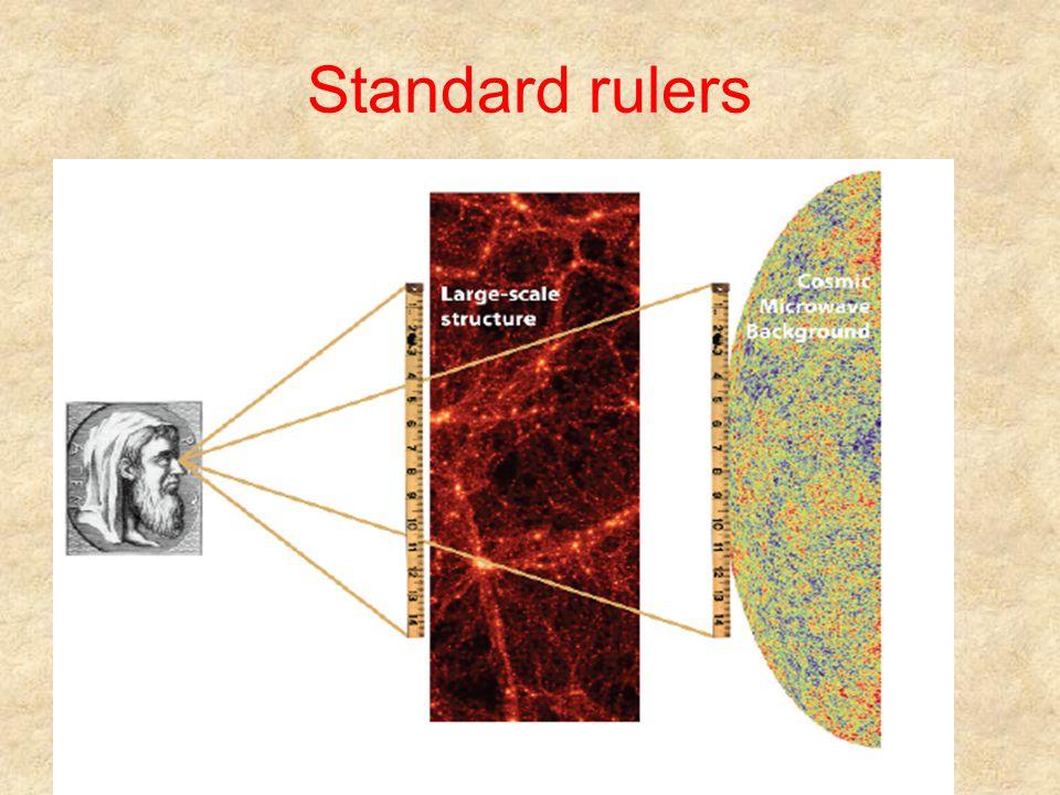 Standard rulers