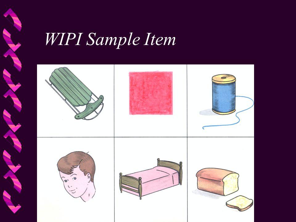 WIPI Sample Item