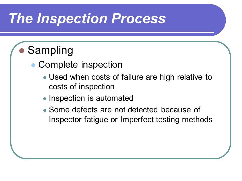 Process Capability Lightbulb Production Upper specification = 1200 hours Lower specification = 800 hours Average life = 900 hours  = 48 hours 1200 – 900 3(48) 900 – 800 3(48) ProcessCapabilityIndex, Cpk = Minimum of Cp = 1.39