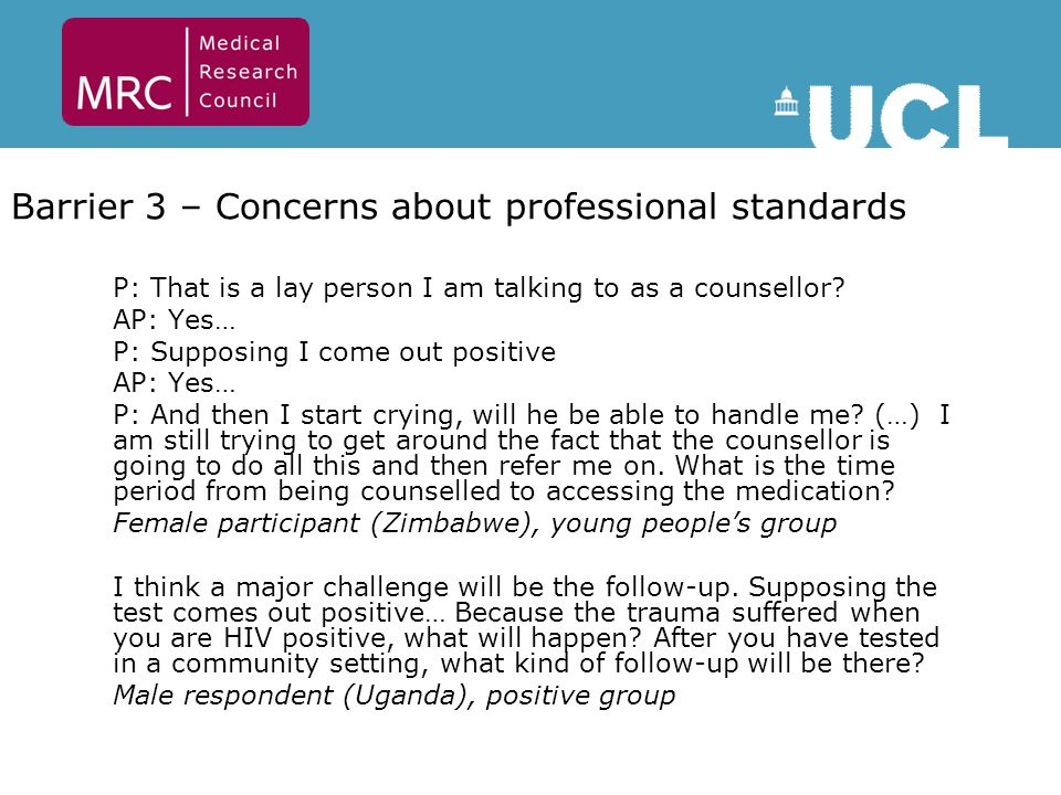 P: That is a lay person I am talking to as a counsellor.