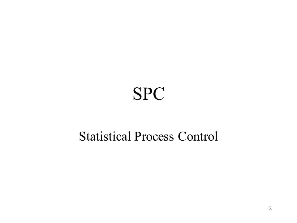 2 SPC Statistical Process Control