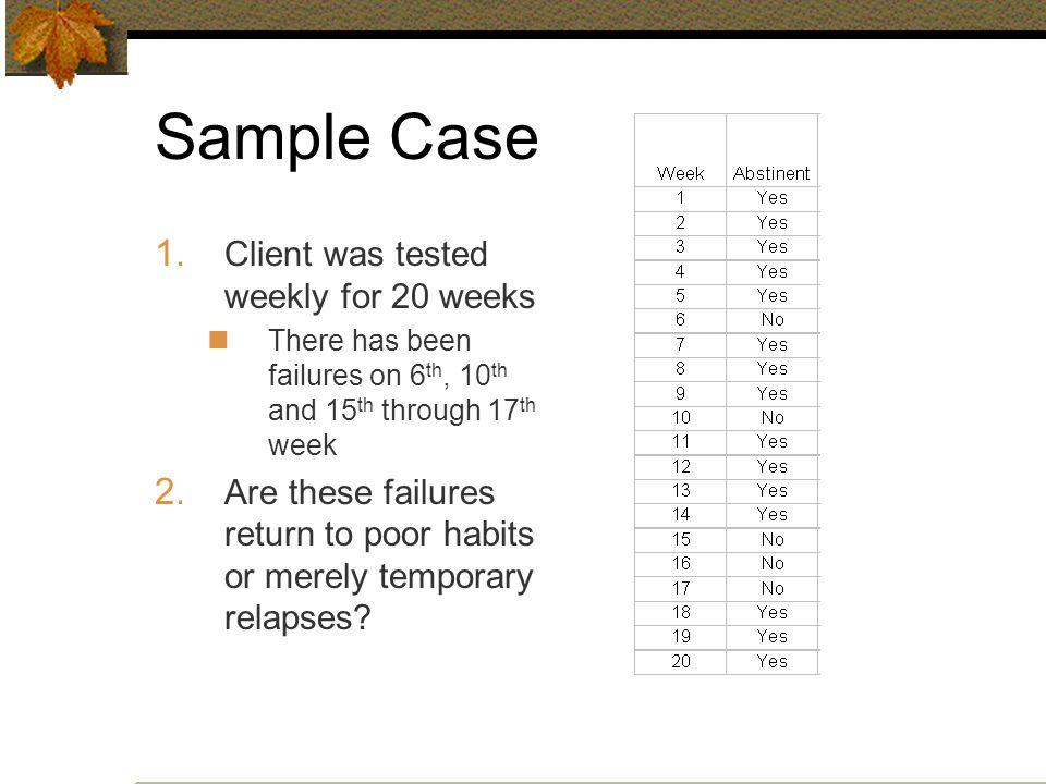 Sample Case 1.