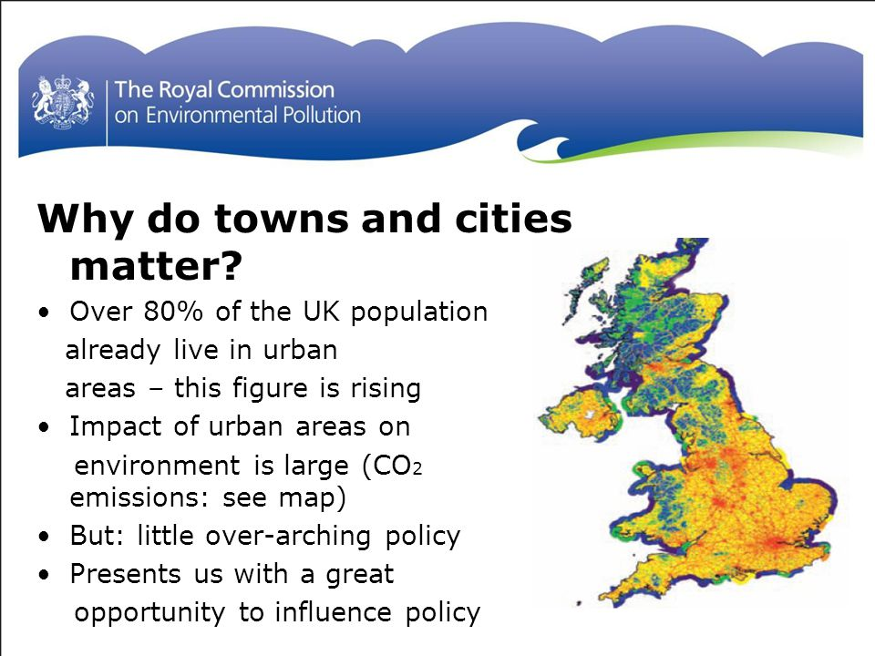 Why do towns and cities matter.