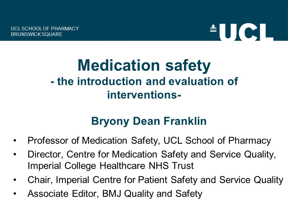 UCL SCHOOL OF PHARMACY BRUNSWICK SQUARE Dr-CARD
