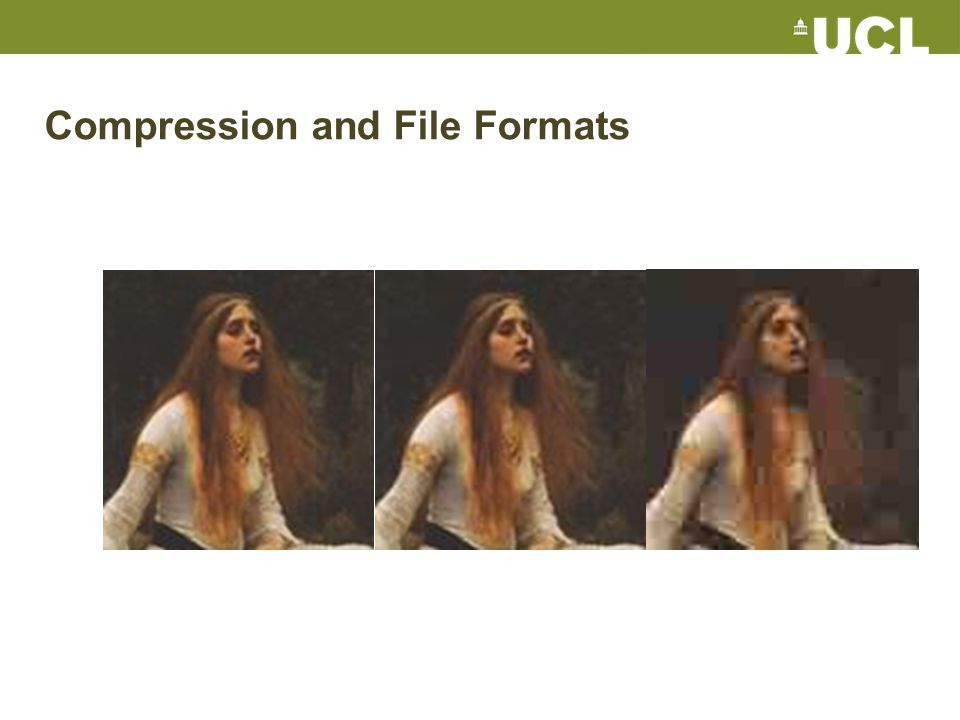 Compression and File Formats