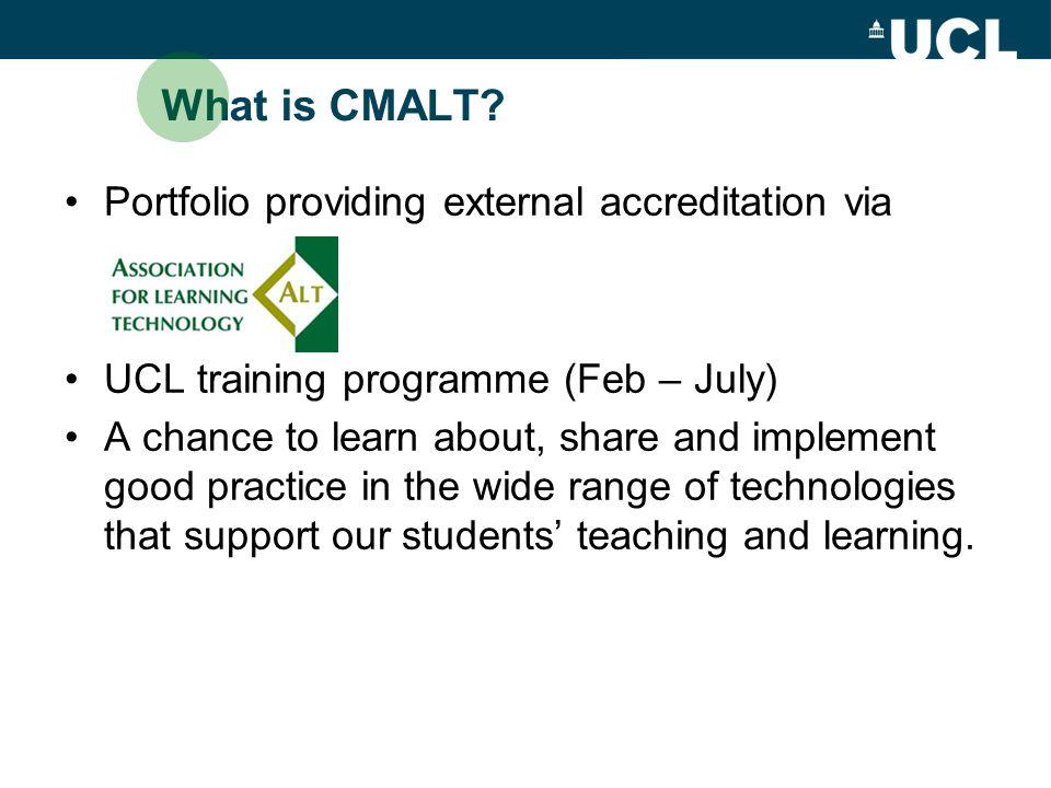 What is CMALT.