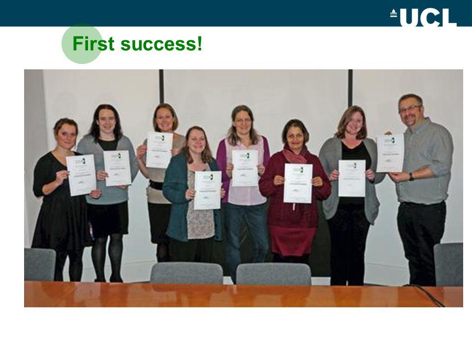 First success!