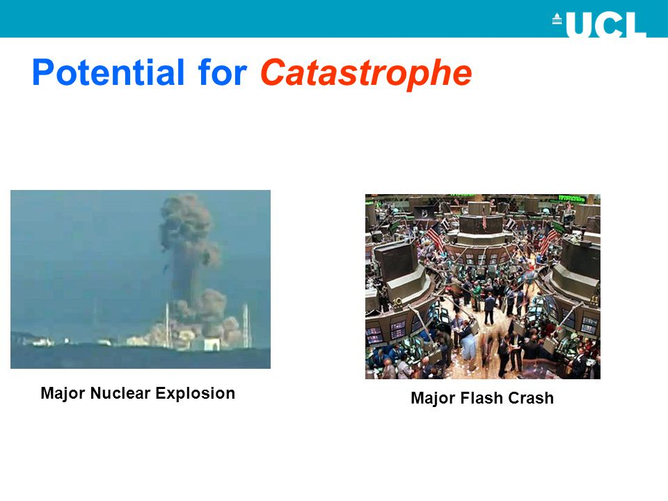 Potential for Catastrophe Major Nuclear Explosion Major Flash Crash