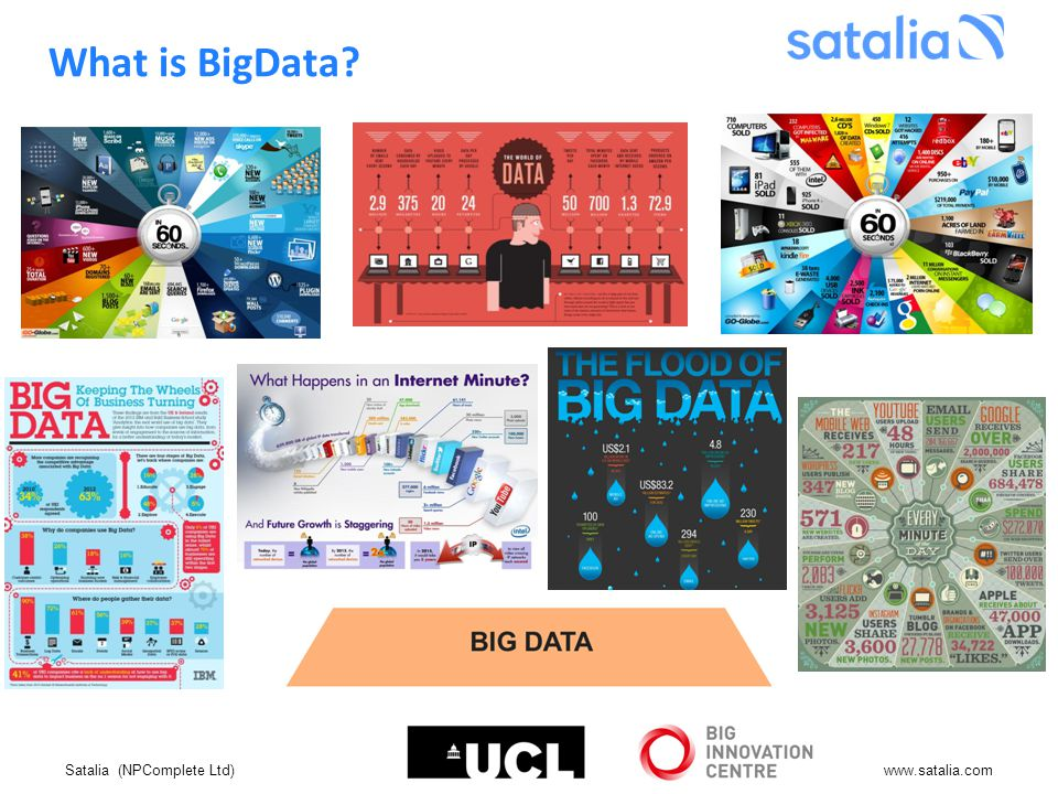 Satalia (NPComplete Ltd)www.satalia.com What is BigData