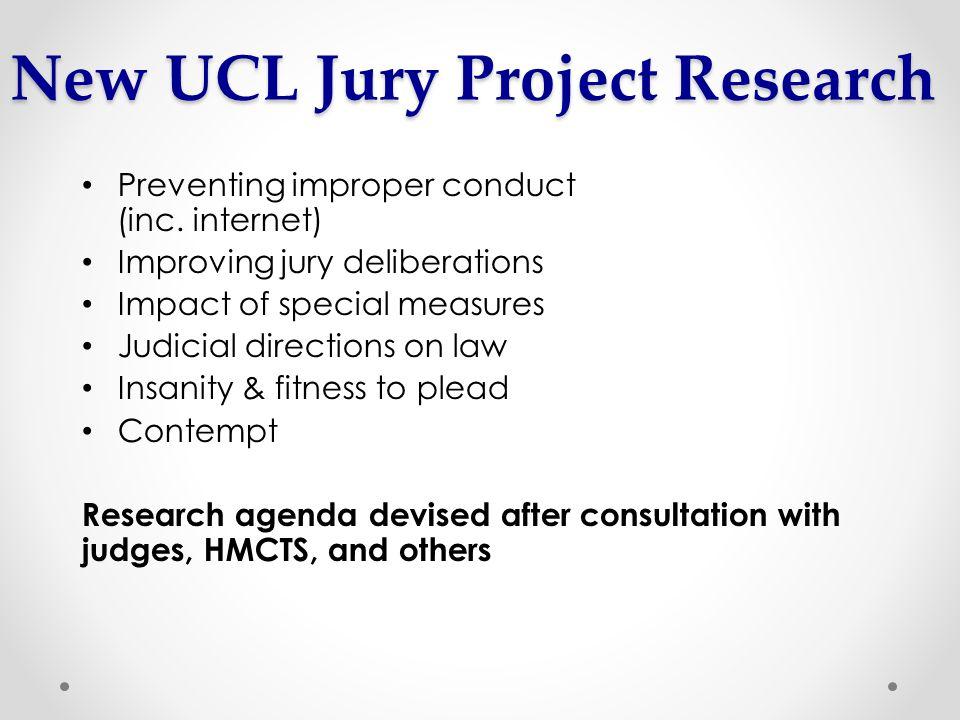 Preventing improper conduct (inc.