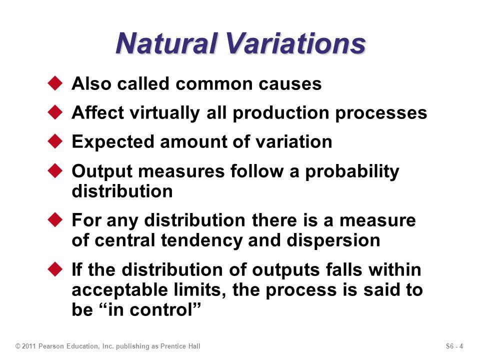 S6 - 4© 2011 Pearson Education, Inc.