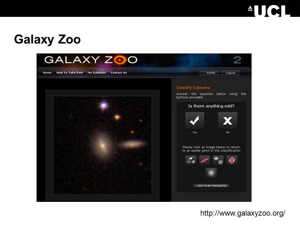 Galaxy Zoo http://www.galaxyzoo.org/