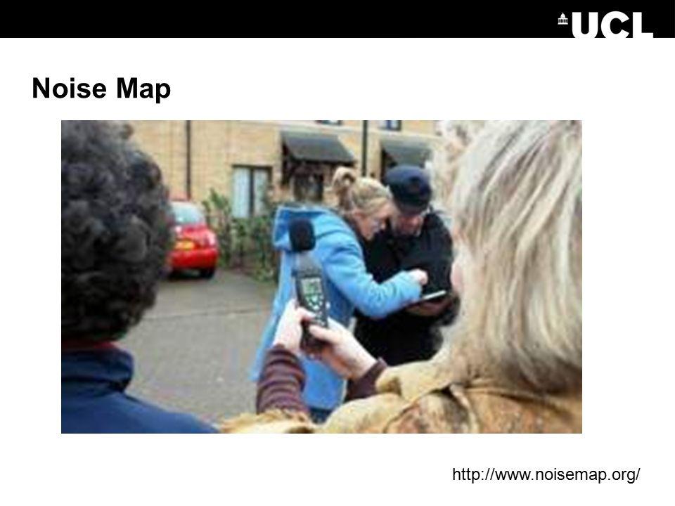 Noise Map http://www.noisemap.org/