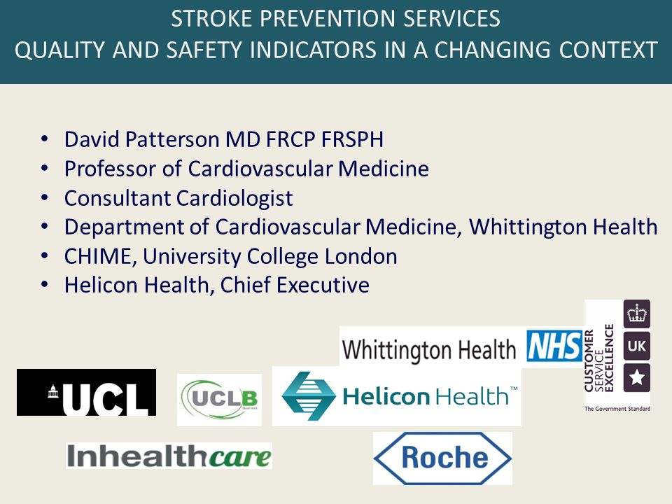 HeartBeat/HeliconHeart - Seamless anticoagulation and stroke prevention services across north London building on 20 years of world-leading research on electronic health records Good European Health Record 1992 1996 2000 1998 1996 2002 2004 2006 2008 20 years of international research on the requirements, design, implementation, sharing and protection of electronic health records Leading a global open source EHR Foundation Leading the development of European and International EHR standards implementation of an ISO EN 13606 conformant EHR server with a suite of cardiovascular web applications Set up and seed funded by UCL in 2012 Key partners CHIME and Whittington Health HeartBeat Anticoagulation management and advisory system 2006 1999 2011 2012 HeliconHeart is a unique package of clinical services comprising: - Web software - Clinically useful Electronic Health Record, standards-based - Decision support – which drugs to use, how and when - Collaboration tools - Education - Governance & data analytics