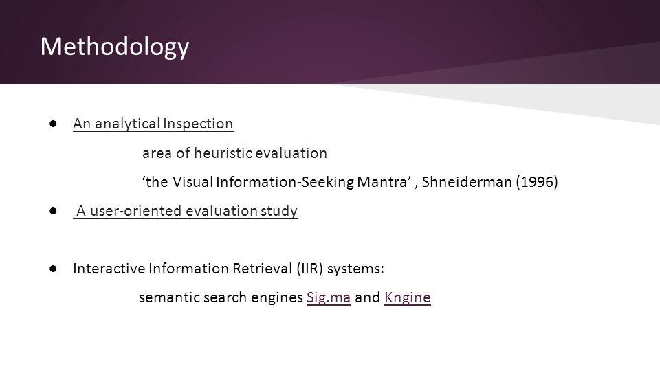 5.Discussion Q3. Semantics improve the visualization of search results.