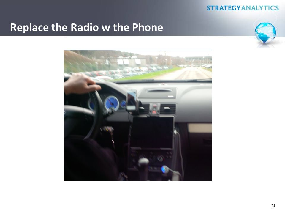 Replace the Radio w the Phone 24