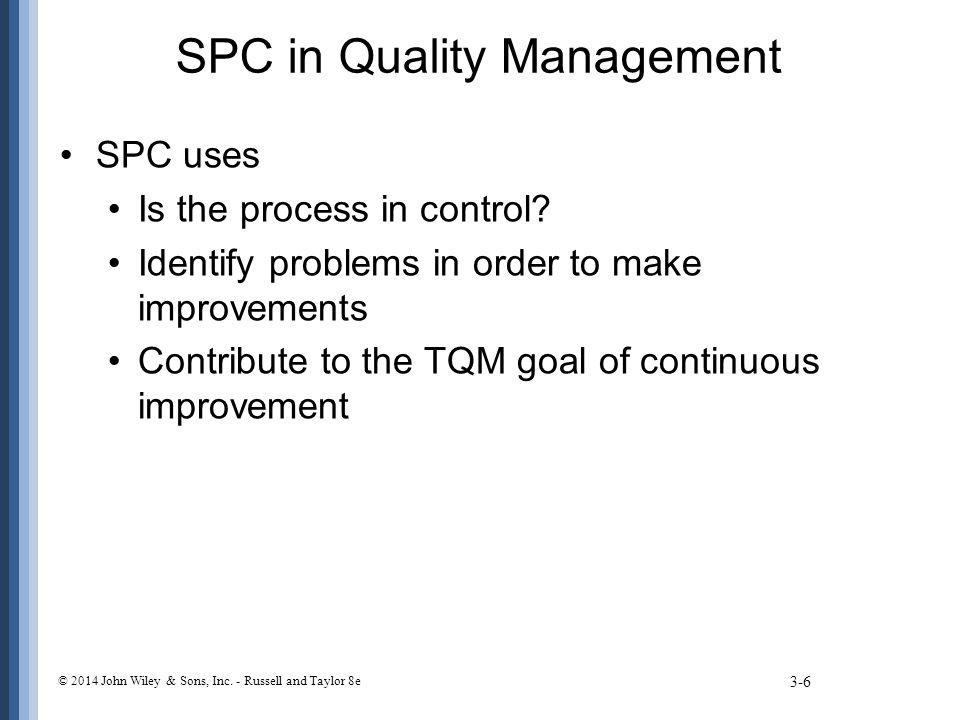 Process Capability Ratio 3-57 © 2014 John Wiley & Sons, Inc.