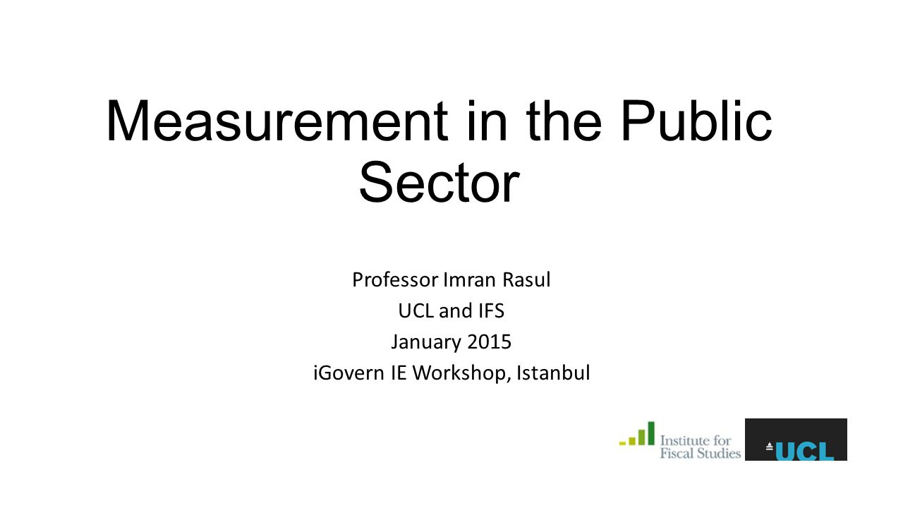 Measurement: Public Service Delivery Audits of 4700 public infrastructure projects conducted by the 63 organizations 11 project types (road, borehole, training etc.) [construction and non-construction] projects evaluated by independent teams of engineers outcome: completion rate (0-100%) Checks and balances in audits: centralized team of technocrats monitored the evaluation teams evaluators were asked to provide material, photographic, or video evidence to support their reports random checks on evaluated sites We then hand coded the material from all projects 4721 projects, 63 civil service organizations, aggregate budget of US$800 million one year projects